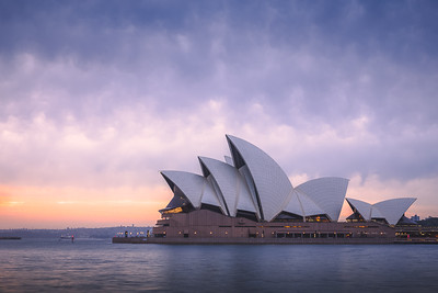 Opera House at Sunrise. Sydney, Australia