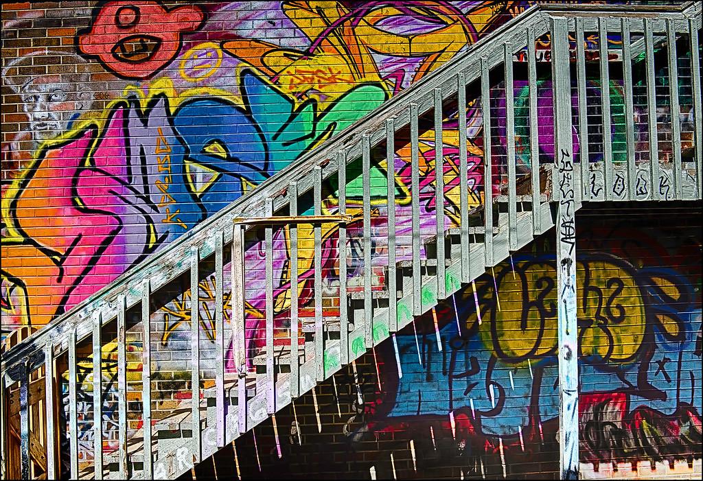 Staircase Art