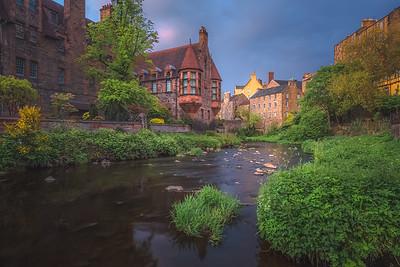 136 Dean Village. Edinburgh, Scotland.