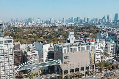 Takashimaya and Shinjuku Gyoen