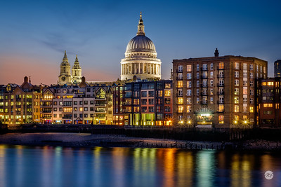 St Paul's riverside