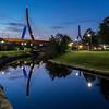Zakim Reflection, Boston, MA