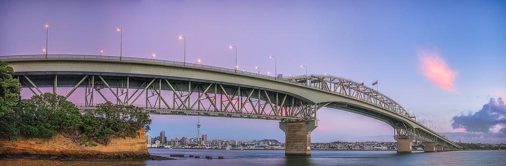 Auckland Harbour Bridge, Auckland, New Zealand