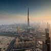 Dubai - Burj Khalifa sunset