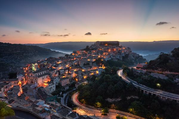 Ragusa Ibla at Dawn | Sicily