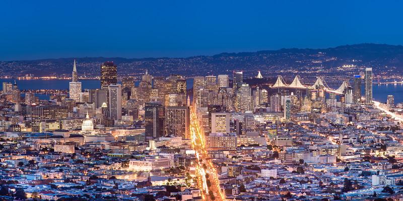 Downtown San Francisco, It's Alive