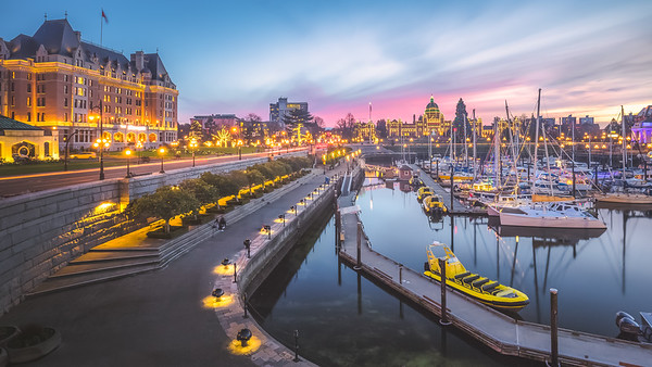 Victoria Inner Harbour, Canada