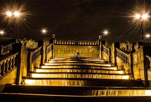 Golden Fountain Waterfall