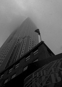 Empire State Building through the Mist