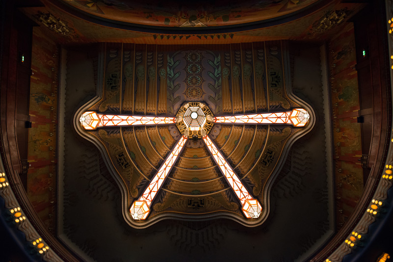 Ceiling of the Pathé Tuschinski
