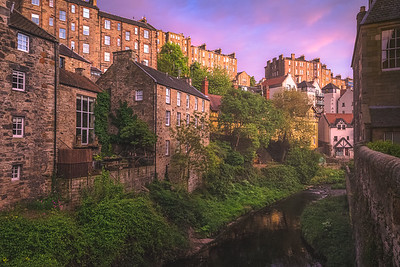 Dean Village. Edinburgh, Scotland.