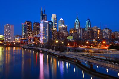 Philadelphia Blue Hour