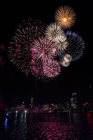 July 4th fireworks in Boston, 2016