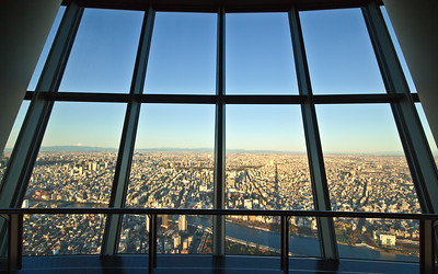 View from Skytree Tokyo