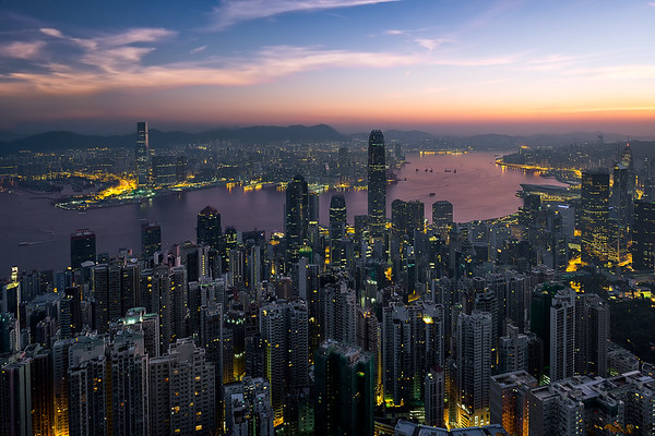 Victoria Peak Sunrise
