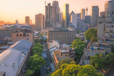 Sydney Sunrise Cityscape, Australia