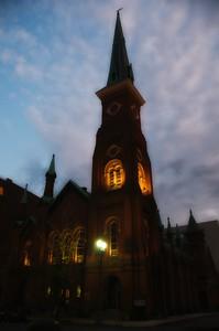 Spooky Old Church