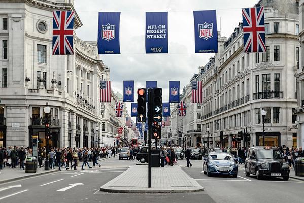 Life on Regent Street, London