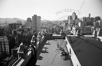 Roofdeck of the Russ Building 235 Montgomery St -1937