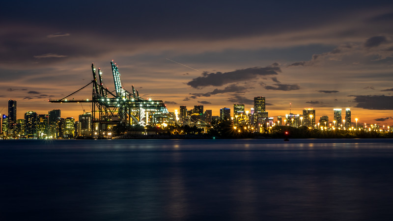 Port of Miami.