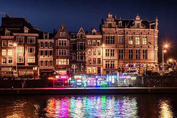 Neon Signs Amsterdam Light Festival