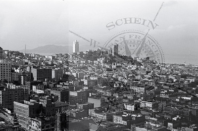 Golden Gate  & Russian Hill from the Russ Building