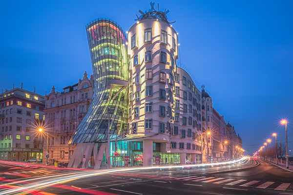 Dancing House. Prague, Czech Republic