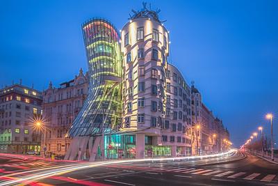 Dancing House. Prague, Czech Republic