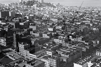 Chinatwon & Russian Hill from the Russ Bldg