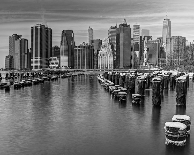 Lower Manhattan View - From Booklyn Bridge Park
