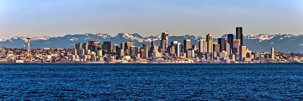 Seattle Skyline in 2016