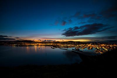 twilight in Anacortes