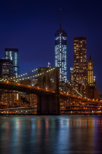 Brooklyn Bridge and WTC