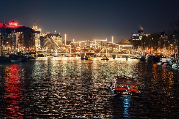 Skinny Bridge Amsterdam