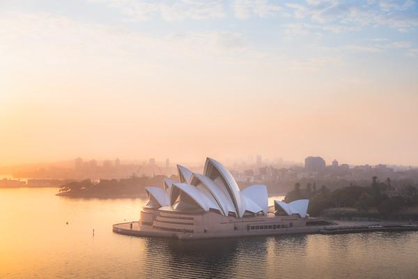 Sydney Opera House Sunrise, Australia