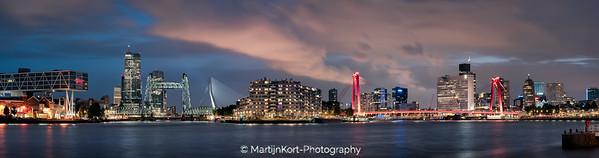 Rotterdam Noordereiland panorama