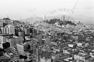 View North West from Russ Building to Golden Gate - 1937