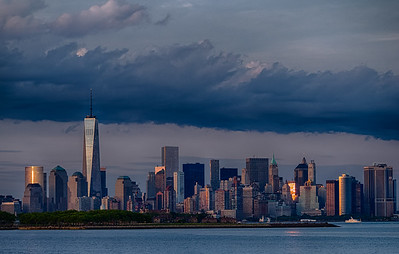 Lower Manhattan from Jersey City