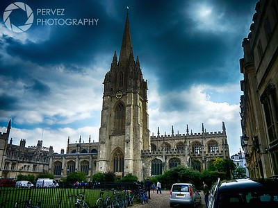 University Church of St. Mary the Virgin at Oxford University
