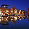 Kuwait - Alkout mall reflection