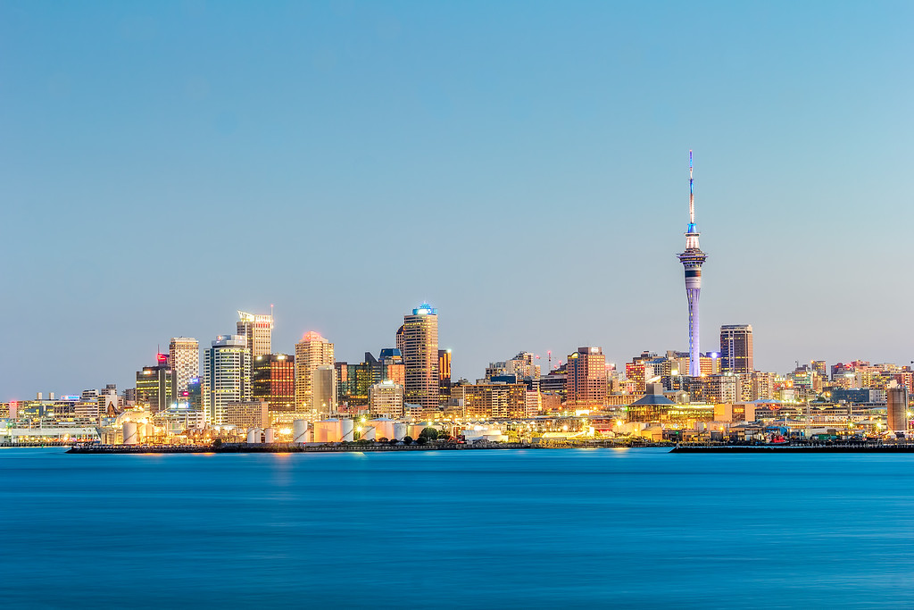 Auckland Blue