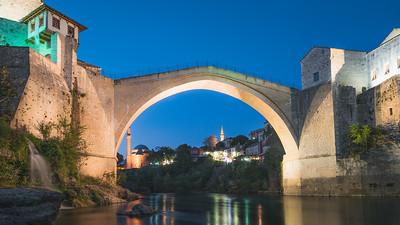 Stari Most. Mostar, Bosnia & Herzegovina
