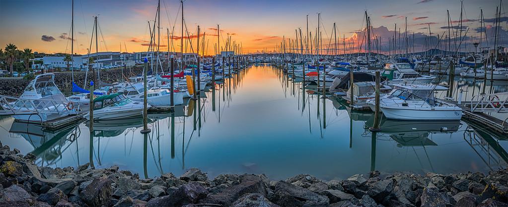 Half Moon Bay Marina, Auckland, New Zealand