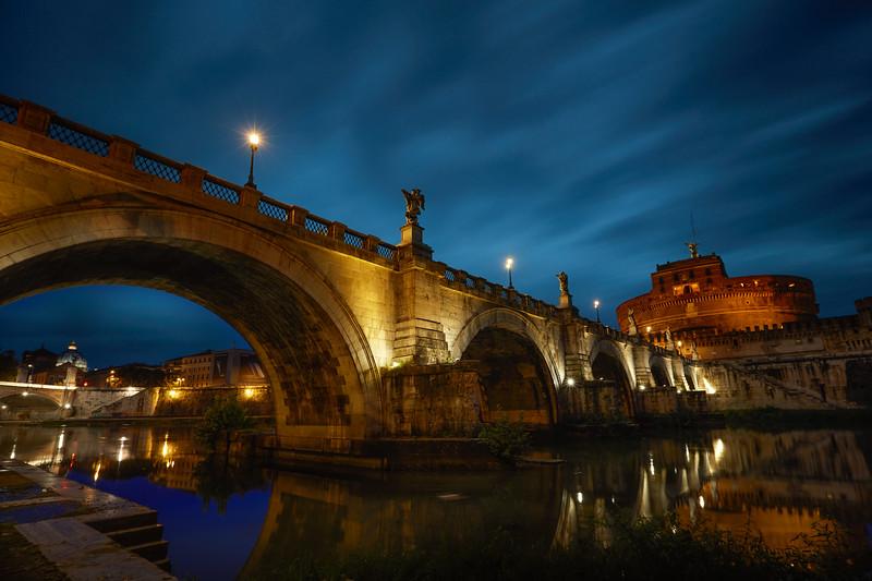 Ponte Sant'Angelo | Rome Italy