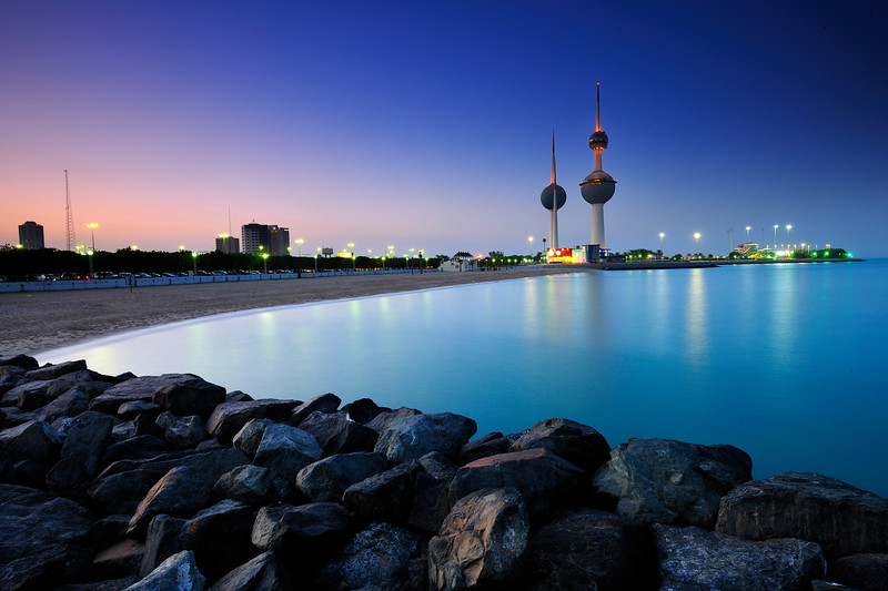 Kuwait - Kuwait Towers