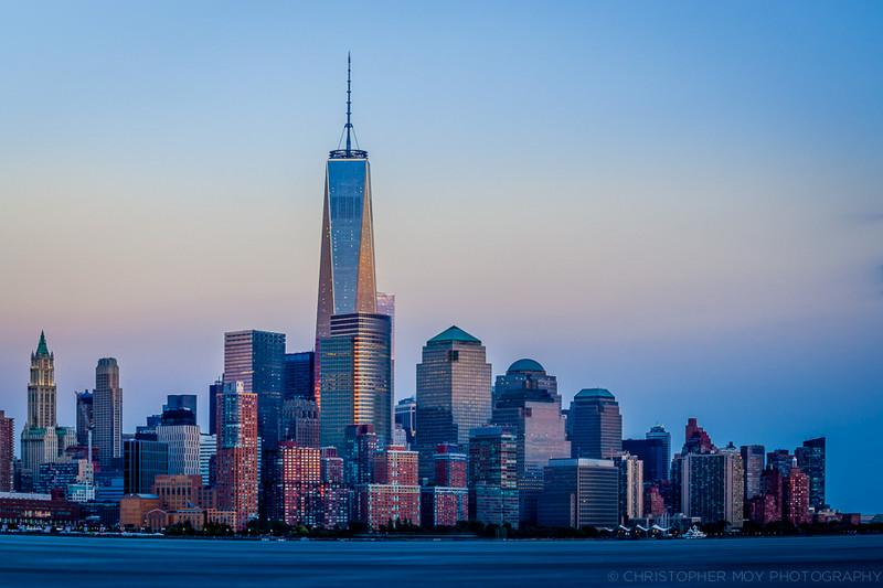 Lower Manhattan from Hoboken