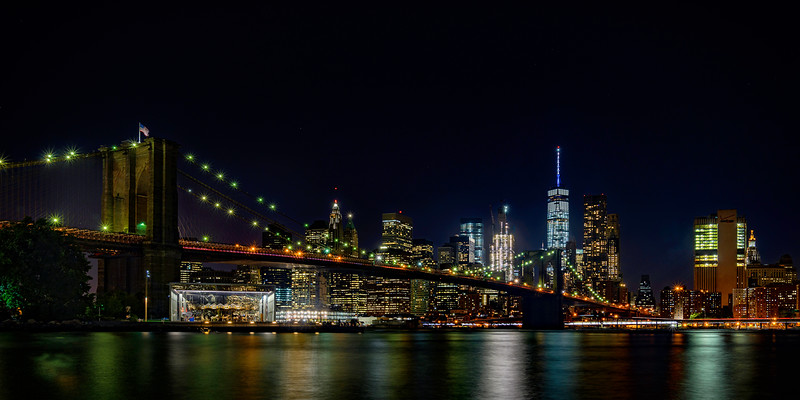 Brooklyn Bridge Nightscape