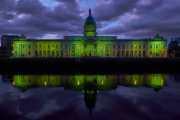 Custom House at Easter