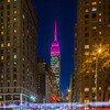 Empire State Building lit for UN Women and HeForShe Arts  Week