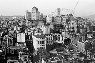 View West from the Russ Building @ Bush & Montgomery-1937